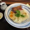 元 - 料理写真:豚の角煮ぶっかけうどん