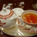 第一ホテル東京 ロビーラウンジ - (2016/10月)キャラメル紅茶