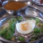 インド定食ターリー屋 - ・パクチーライスキーマ定食 990円