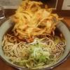 そば うどん 元長 - 料理写真:かき揚げそば(\380)