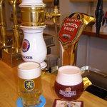 "MANDA - 5種類の""樽生""ビールが自慢。北海道では当店でしか飲めない銘柄もあります。"