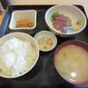 宝山 いわし料理 大松 - 料理写真:いわし・はまち刺身定食 500円
