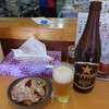 中華そば みとや - 料理写真:ビールは黒ラベル