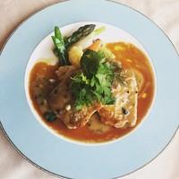 カフェ&レストラン ドルフィン - 国産豚ロース肉のポワレ トリュフソース