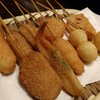串八 - 料理写真:串カツ人気10種盛り