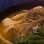 小作 - お汁の色は味噌というか南瓜というか。