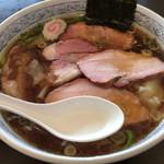 ヱビスヤ - ワンタンチャーシュー麺@1,250円