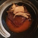 SATO ブリアン - 松茸とヒレのすき焼き風
