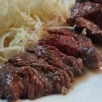 ともちゃん - 「牛さがり (1000円)」は、ほんのりレア感があってジューシーで旨い!