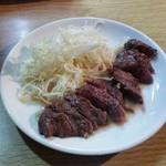 ともちゃん - お肉のレベルも高い「牛さがり (1000円)」