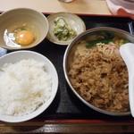 牛心 - 牛鍋定食 2016.9