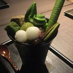 茶寮 翠泉 - 抹茶パフェ
