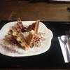 ヴェルデュール・カフェ - 料理写真:モンブランワッフル