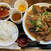 kei楽 - 料理写真:201610 「レバニラ炒め定食」(山形庄内産豚レバー) 1080円