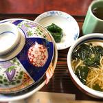 岩手屋 - 料理写真:天丼セット1300円