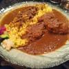 シナジー - 料理写真:ほろほろチキンとラムの合いがけカレー✨