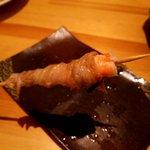 和み家 - 海老を豚バラで巻いていますが、これが絶品!