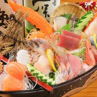 いろりあんでは北海道の海鮮にこだわった料理をご提供。