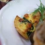 フランス料理店 牛肉食堂 COWBELL - 鶏卵焼(たまごやき、キッシュ・ロートリンゲン)