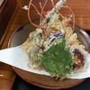 安麺棒 - 料理写真:天ざるそばの天ぷら