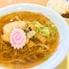 佐野サービスエリア(上り線) スナックコーナー - 料理写真:870円の佐野ラーメン、カレーセット