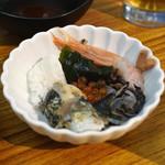 天ぷらとワイン 小島 - 刺身盛合せ