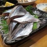 八百保 - トロ秋刀魚の造り