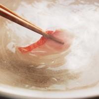 鮮魚出汁の効いた柚子塩刺身鍋