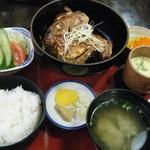 普賢寿司 - あら煮ランチセット@850