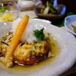 すみれ - 山芋と豆腐のおとし揚げ