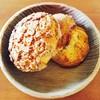 パンスケープ - 料理写真:メロンパンとスコーン。