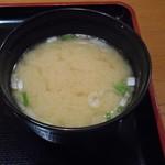 ぎおん亭 - 味噌汁 2016.9