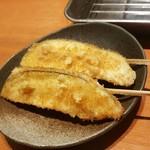はしり亭(旬) - 水ナスの串揚げ
