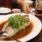 青葉 - 料理写真:ハタの中華蒸し