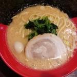 一刀家 - ラーメン 味濃い目、脂多め、麺固め(16-10)