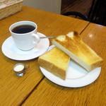カンタベリー - ジャーマンモーニング680円コーヒーとトースト