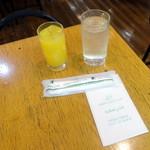 カンタベリー - ジャーマンモーニング680円まずはオレンジジュース