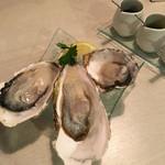 58158421 - 生牡蠣3種食べ比べ