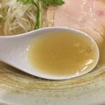 麺屋武一 - クリーミーなスープ