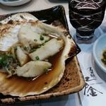 寿司処 江戸金 - ホタテ醤油焼き