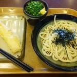 羽生製麺処 - ざるうどん&いか天
