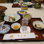 大正屋 - 夕食