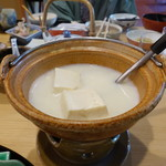 大正屋 - 溶ける湯豆腐が名物らしいです