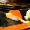 宝寿司分店 - 料理写真:サーモン筋子のせ