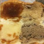 福田パン - 左がすりおろしりんご、右が店舗限定のクッキーコーヒー◎