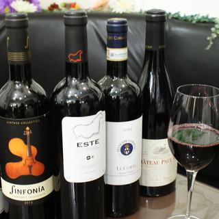 ヨーロッパをメインとしたワイン豊富にあります!