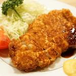 とんき - ロースかつ定食(1900円)