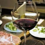 ピグレット - プロシュート&赤ワイン