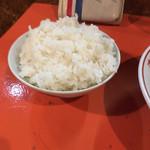 二代目 けんのすけ  - 白ご飯