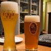 フォーハーツカフェ - ドリンク写真:ヴァイツェンとインペリアルIPA
